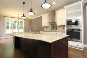 modern kitchen island pendant lights floor master home forest new homes stanton homes