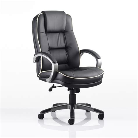 Office Chairs Uk by Monterey Leather Office Chair Officesupermarket Co Uk