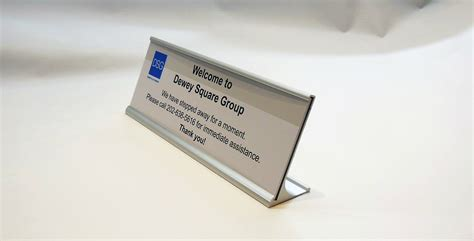 away from desk sign office signs architectural signage braille ada compliant