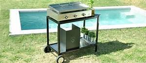 Meuble Pour Plancha : dessertes supports et chariots pour plancha en inox bois ~ Melissatoandfro.com Idées de Décoration