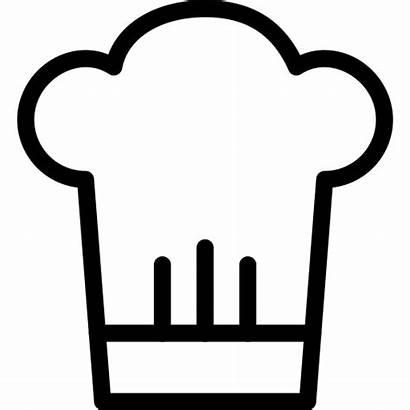 Koki Makanan Icons Ikon Restoran Icon Chef