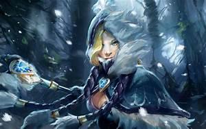 Crystal Maiden- DotA 2 wallpaper #14826