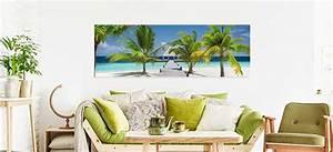 Strandbilder Auf Leinwand : strand bilder auf leinwand kostenloser versand bilderwelten ~ Watch28wear.com Haus und Dekorationen