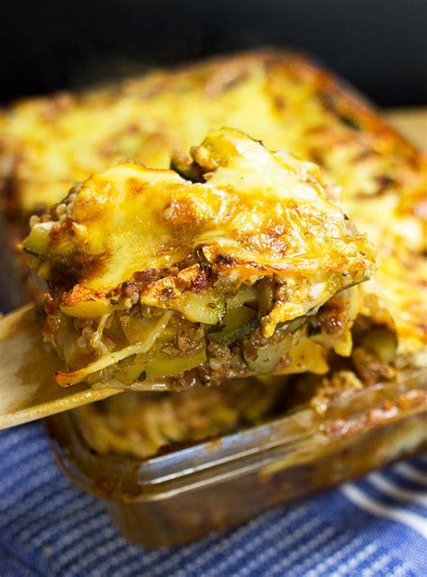 Vegetarian Lasagna Zucchini