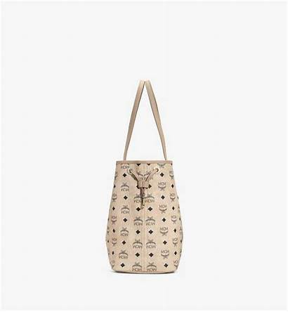 Liz Visetos Wendeshopper Shopper Reversible Mcm Beige