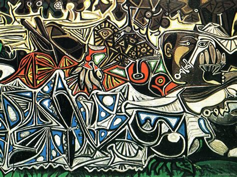 Abstract Art By Pablo Picasso Wallpaper Mood