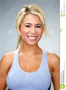 Fit Athletic Women Blonde