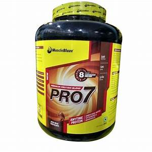 Whey Protein Vegetarian Muscleblaze Pro 7 Supplement  Powder  For Muscle Building  Rs 3800