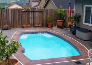 Inground Pool Ideas Small Yards