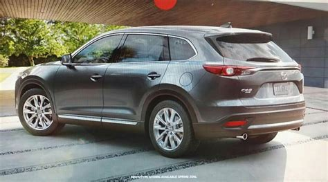 Modifikasi Mazda Cx 9 by 2016 Mazda Cx 9 Revealed In Leaked E Brochure