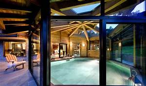 chalet de luxe avec piscine interieure rhone alpes With chalet montagne avec piscine interieure