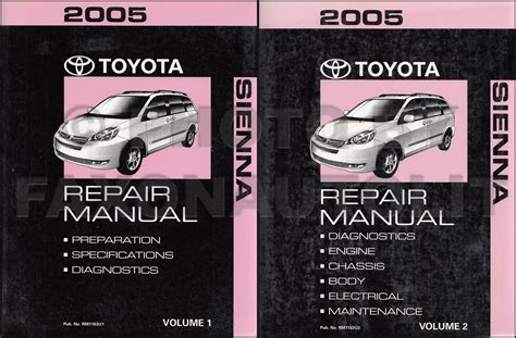 auto body repair training 2004 toyota avalon parental controls 2004 2010 toyota sienna body collision repair shop manual original