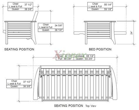 size futon siesta futon and day siesta futon frame xiorex