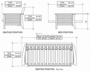 Full size futon dimensions roselawnlutheran for Full size futon dimensions