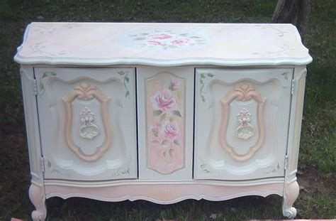 painted shabby chic furniture collage sheet girl how to paint a shabby chic rose video lesson