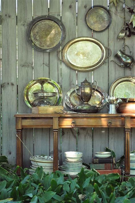 cool ideas  decorate  home  metal trays