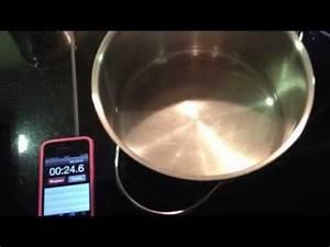 Kochen Mit Induktion : wasser kochen mit induktion youtube ~ Watch28wear.com Haus und Dekorationen