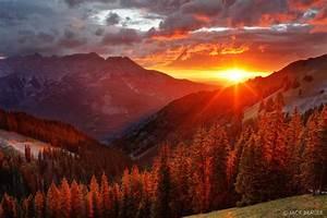 Uncompahgre Sunset : San Juan Mountains, Colorado ...