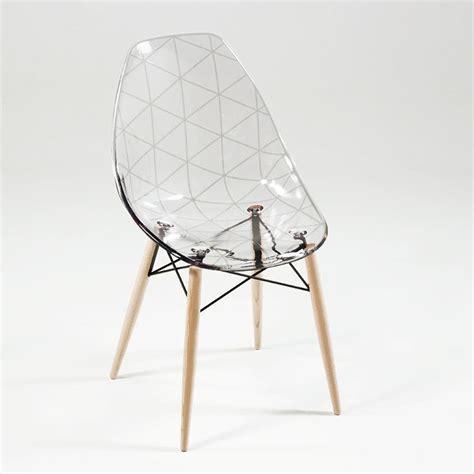 chaises transparentes pas cher chaise transparente et bois atlub com