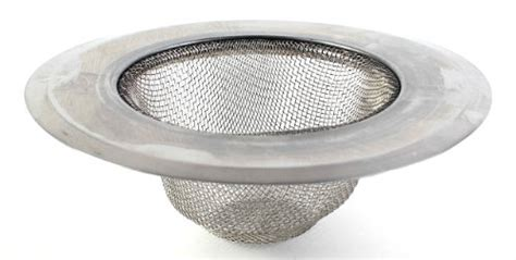 mesh sink strainer home depot discovery stainless steel mesh sink strainer 1 pack