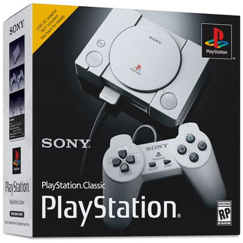 Sony Copies Nintendo With Playstation Classic Mini Gaming