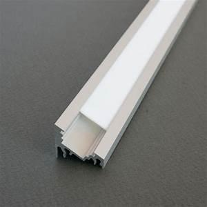 Eclairage Led En Ruban : kit profil s aluminium 2m oblique pour ruban de led ~ Premium-room.com Idées de Décoration