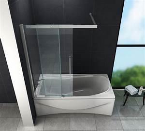 Duschwände Für Badewanne : schiebet r duschtrennwand doze 120 x 150 badewanne glasdeals ~ Buech-reservation.com Haus und Dekorationen