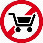 Icon Shopping Forbidden Cart Prohibited Editor Open