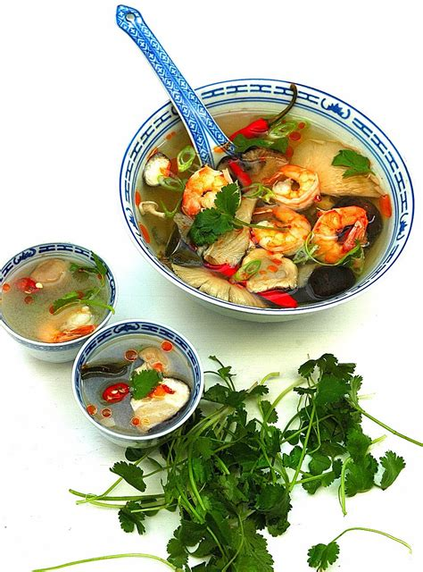 cuisine yum yum authentic food tom yum goong my easy cooking