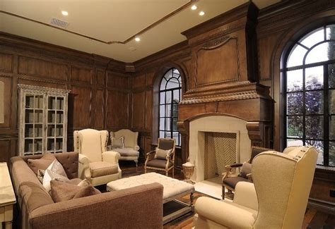 moulding and millwork traditional living room