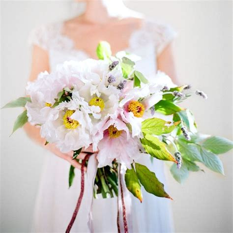 How To Make A Peony Bouquet Once Wed