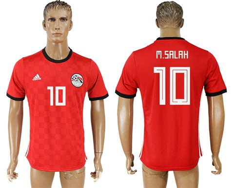 2018 World Cup Jersey Home Egypt