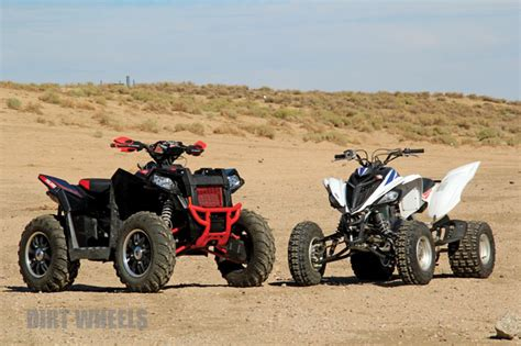 Dirt Wheels Magazine  Yamaha Raptor 700 Vs Polaris