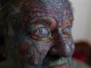 John's Heavily Tattooed Face  Abc News (australian