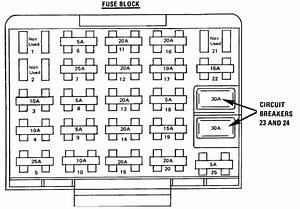 1995 Oldsmobile 88 Fuse Box Diagram