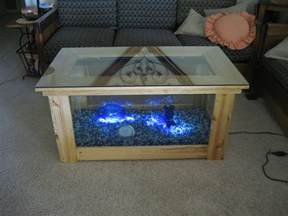 DIY Fish Tank Table