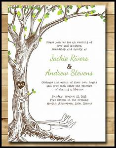 Bookish wedding invitations for your literary lovefest for Wedding invitations with tree theme