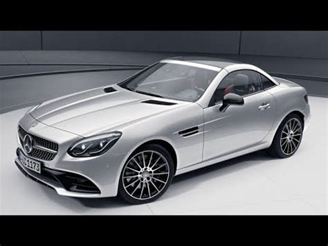 2019 Mercedes Benz Slc Interior Inceleme Youtube
