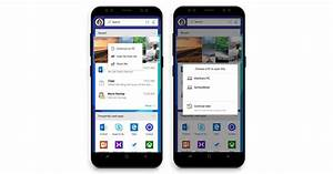 Microsoft's new Android launcher lets you connect your ...