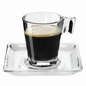 Tasse En Verre : tasse en verre 8cl x 6 ~ Teatrodelosmanantiales.com Idées de Décoration