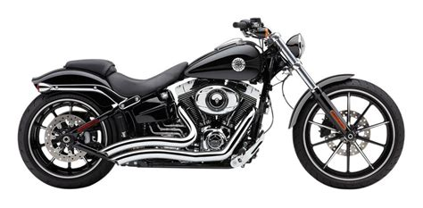 Cobra Speedster Short Swept Exhaust For Harley Breakout