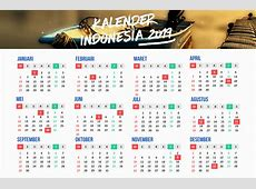Yearly Printable Calendar 2019 With Indonesia Holidays