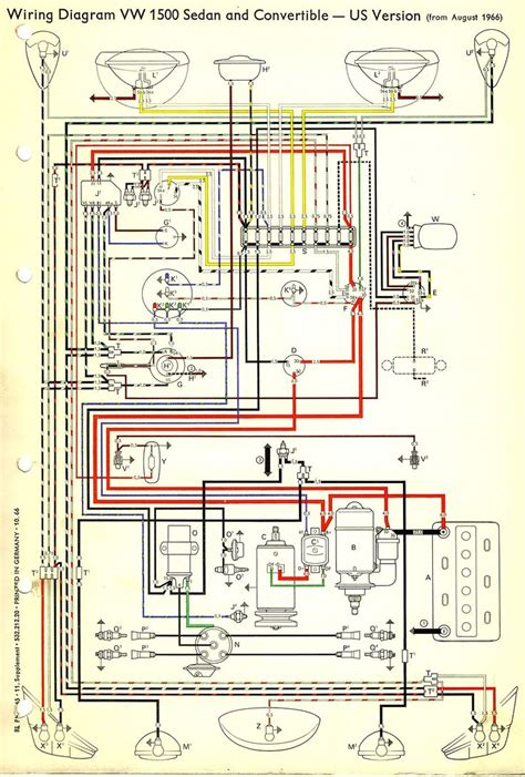 1967 beetle wiring diagram usa thegoldenbug best 1967 vw wiring diagram vw beetles