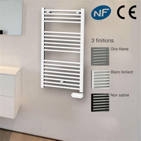 seche serviette electrique salle de bain s 232 che serviettes electrique rond 50cm 500w 3 coloris au choix