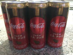 This isn't the first version of coffee soda. Coca Cola Coffee LIMITED EDITION Can, NEW, Ca Phe, Vietnam, 30% Caffeine, RARE | eBay