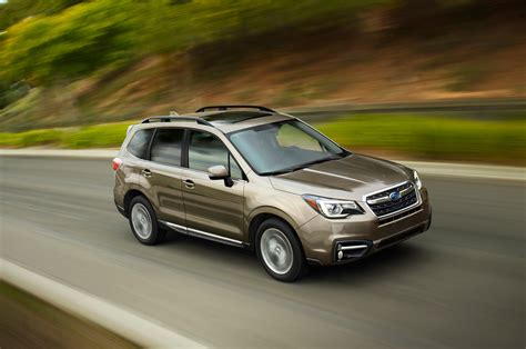 Premium, from $28,845, is next. 2017 Subaru Forester Priced From $23,470   Automobile Magazine