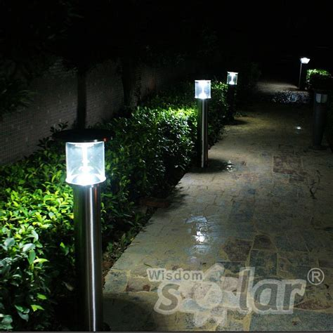 ce ip65 solar power garden path lights manufacturing by