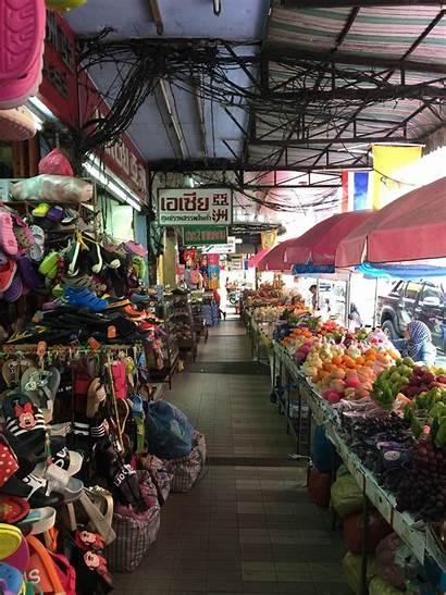 Market Santisuk Kim Yong Shops Hatyai Observe