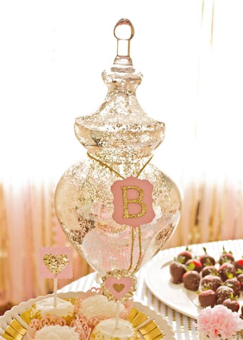 pink and gold birthday themes kara s ideas pink gold second birthday