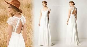 Robe Style Boheme : robes de mari e boh me et r tro mariage et c r monie ~ Dallasstarsshop.com Idées de Décoration